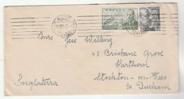 1953 SPAIN COVER Stamps HELICOPTER Etc Madrid To GB - Elicotteri