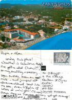 Tsilivi, Zakynthos, Greece Postcard Posted 2010 Stamp - Greece