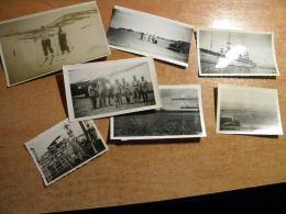 7 Photos Div Formats Certaines Situées Et Datées Syrie, Liban Années 1930  Avions Bateau J D'arc Voir Description - Unclassified