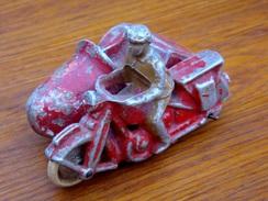 Side Car - Jouet Ancien Aluminium - Jouets Anciens