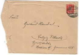 Deutsches Reich - 1924 - 10 Pf. - Viaggiata Da Berlin - Deutschland