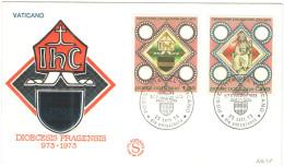CITTA' DEL VATICANO - VATIKAN CITY - 1973 - Dioecesis Pragensis - 2 FDC - FILAGRANO - FDC
