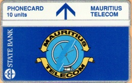 Mauritius - MAU-04, 302A/10 - State Bank & Telecom´s Logo, 3.000ex, 2/93, Mint - Mauritius