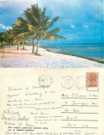 Beach, Dar Es Salaam, Tanzania Postcard Posted 1983 Stamp - Tanzania