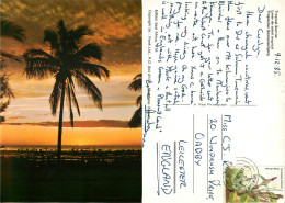 Sunrise, Kenya Postcard Posted 1985 Stamp - Kenya