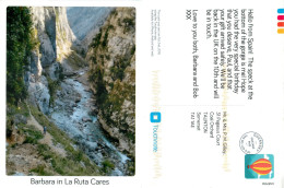 Barbara, La Ruta Cares, Spain Postcard Posted 2015 Touchnote Private Post Via Guernsey - España