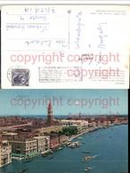 473068,Veneto Venezia Venedig Panorama Dalla Basilica Della Salute Teilansicht - Postcards