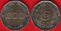 """Algeria 200 Dinars 2012 """"Independence"""" BiMetallic UNC - Algérie"""