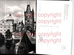 474869,Prag Praha Staromestska Mostecka Vez Altstädter Brückenturm - Postcards