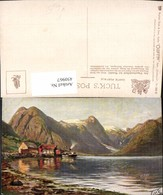 450967,Raphael Tuck & Sons 222B Künstlerkarte Norwegen Landschaft Bergkulisse - Non Classificati