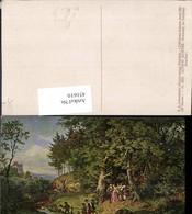 451610,Künstler AK L. Richter Brautzug Im Frühling Hochzeit Pub Ackermann 2889 - Hochzeiten