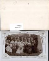 451609,Foto AK Hochzeit Hochzeitsfoto Gruppenbild Passepartout - Hochzeiten