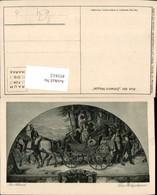 451612,Künstler AK M. V. Schwind Hochzeitspaar Hochzeit Kutsche - Hochzeiten