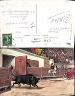 453358,Künstler Ak Salida Del El Toro Stierkampf Sport - Stierkampf