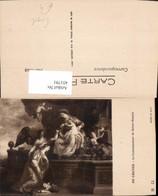 451791,Künstler AK De Crayer Couronnement De Saint-Rosalie Engel - Engel