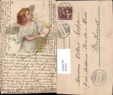 451811,Künstler Litho Engel Buch Bibel - Engel