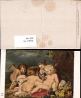 451794,Künstler AK P. P. Rubens Jesus Und Johannes Engel Pub A. Ackermann 2889 - Engel