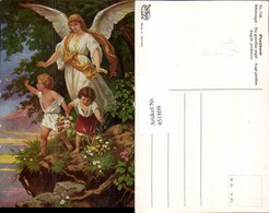 451809,Künstler AK Plockhorst Schutzengel Engel Kinder Pub Degi 1128 - Engel