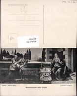 451800,Künstler AK Leonardo Da Vinci Annunziazione Della Vergine Engel - Engel