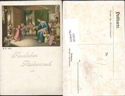 451821,Künstler AK Heilige Maria Jesuskind Engeln - Engel