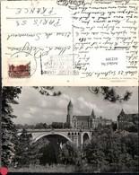 452309,Luxembourg Pont Adolphe Et Caisse Epargne Brücke - Ansichtskarten
