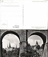 452310,Luxembourg La Cathedrale Et Eglise St. Michel Brücke Kirche - Ansichtskarten