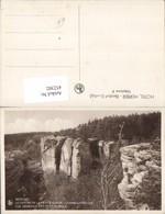 452302,Luxembourg Berdorf Vue Generale Des Sept Gorges Felsen Klippe - Ansichtskarten