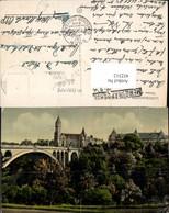 452312,Luxembourg Caisse Epargne Gebäude Brücke - Ansichtskarten