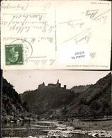 452307,Luxembourg Vianden Vue Sur Le Chateau Au Bord De Our Schloss - Ansichtskarten