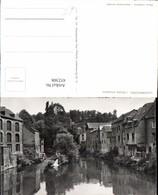 452308,Luxembourg L'Alzette Pittoresque Fluss Häuser - Ansichtskarten
