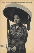 Tonkin - Haïphong - Femme Coiffée Du Grand Chapeau - Collection Dieulefils - Carte Non Circulée - Asie