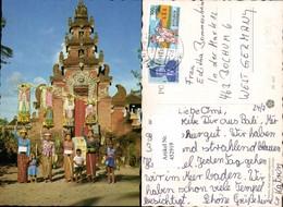 452919,Indonesia Bali Balinese Women With Offerings Tempel Kopfträger - Indonesien