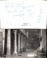 452933,Foto AK Badr Kirche Innenansicht Säulen - Ohne Zuordnung