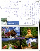 452964,Thailand Phang-Nga Tempel Schrein Statue Mehrbildkarte - Thaïland