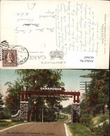 453947,Ontario Western Gate To Gananoque Tor Straßenpartie - Ontario