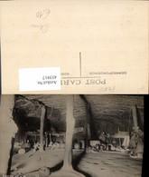 453917,Peru Interior Of A Native Hut Hütte Innenansicht - Peru