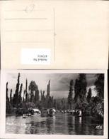 453931,Mexico City Xochimilco Fluss Boote - Mexiko