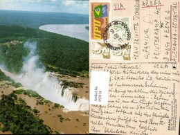 453918,Brazil Foz Do Iguacu Iguacu Falls Wasserfall - Brasilien