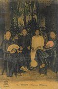 Saïgon - Indochine - Un Groupe D'élégantes - Edition A. F. Decoly - Carte N° 39 Colorisée - Asie