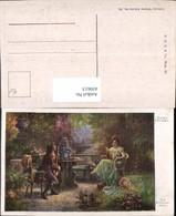 450613,Künstler AK Hans Zatzka Ein Schwerenöter Liebe Paar Mandoline - Zatzka
