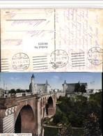 481035,Luxembourg Luxemburg Adolphbrücke Brücke - Ansichtskarten