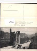 481039,Luxembourg Luxemburg Ruine Du Chateau Sur Le Bock Kutsche - Ansichtskarten