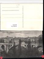481032,Luxembourg Luxemburg Pont Adolphe Boulevard Du Viaduc Brücke - Ansichtskarten