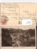 481031,Luxembourg Luxemburg Grund Et Ville Haute Teilansicht - Ansichtskarten