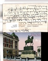 480775,Serbia Belgrad Beograd Hypotheken Bank Fürst Michael-Denkmal - Serbien