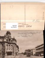 481498,Ceylon Colombo Main Street Straßenansicht Straßenbahn - Sri Lanka (Ceylon)