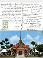 481514,Thailand Greater Bangkok Wat Aroon Thonburi  Big Giants Guarding - Thaïland