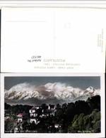 481527,India Darjeeling Kinchinlunga Kanchenjunga Bergkulisse - Indien