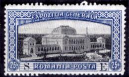 """Romania-00090 - 1906: Y&T N. 195 Soprastampato """"S E"""" (+) Hinged - Privo Di Difetti Occulti - 1881-1918: Carol I"""