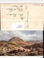 481522,Künstler AK F. Perlberg Israel Mount Berg Tabor Reiter - Israel
